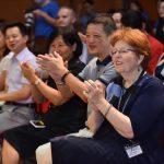 我校在大礼堂隆重召开了第十届协励杰出师德奖颁奖盛典。